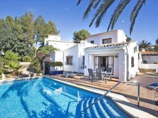 3 bedroom Villa in Denia, Alicante, Costa Blanca, Spain : ref 2306476 - Denia vacation rentals