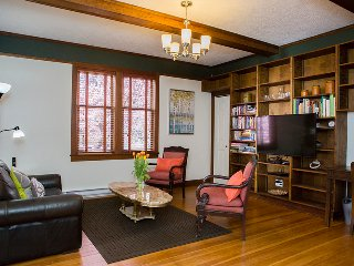 Historic full furnished unit in a 1904 home steps to Downtown - Victoria vacation rentals