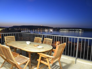 Modern Penthouse Stunning Ocean Vews & Terrace Wifi - Cirkewwa vacation rentals