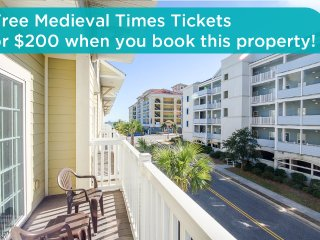 Huge townhome, great location, across from beach, air hockey table! - Myrtle Beach vacation rentals