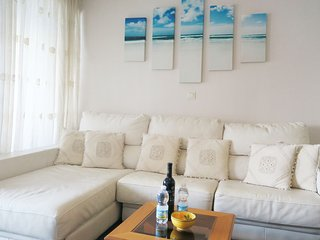 Velilla Beach fantastic sea view, first beach line in Almuñécar, 2 bedroom 4 per - Almunecar vacation rentals