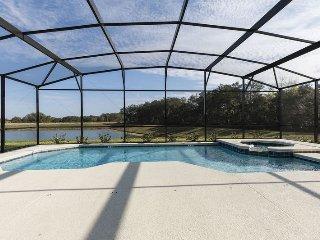 Stunning Lake View 6 Bedroom 5 Bath Solterra Resort Pool Home. 6132BOD - ChampionsGate vacation rentals