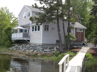 Waterfront Front Home on Bass Harbor Tidal Bay - Bass Harbor vacation rentals