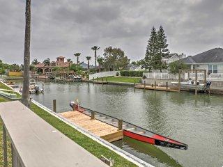 NEW! 3BR Corpus Christi Condo w/ Decks on Canal! - Chapman Ranch vacation rentals