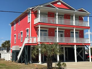 NEW Luxury Ocean and Marsh Views 7BR/6.5BA 2nd Row House Pvt Pool Elevator - Garden City Beach vacation rentals