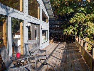 Bluff Cabin Over Beaver Lake -- Upscale, Modern Luxury - Eureka Springs vacation rentals