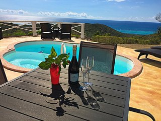 Stand-Alone Villa with Private Pool & Ocean Views; Near Buccaneer & Chenay - Christiansted vacation rentals