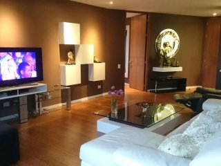 Exclusive 2 bedroom luxurious apartment with A/C located next to El Tesoro mall - Medellin vacation rentals