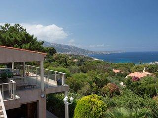 Belle villa avec vue mer à Marine de Davia - Corbara vacation rentals
