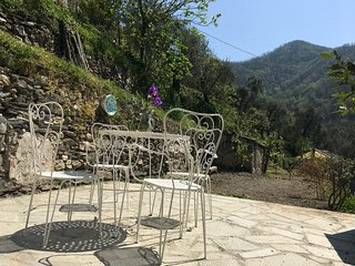 Charme,confort,  in  stone house with private terrace and view - Borghetto d'Arroscia vacation rentals