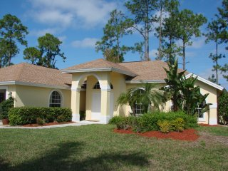 Three Bedroom Pool Home with Peaceful Preserve View - Golden Gate vacation rentals