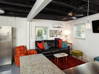Hip, Modern Apartment just steps to Center Street and Beach - Folly Beach vacation rentals