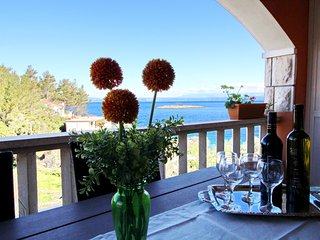 Apartments Sea Line - Two Bedroom Apartment with Terrace and Sea View - Blato vacation rentals