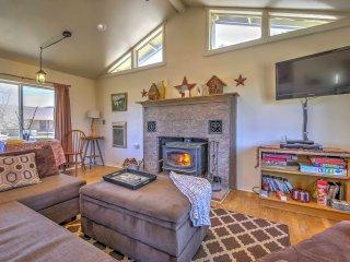 NEW! Remote 1BR Big Bear City Cabin w/Stunning View - Big Bear City vacation rentals