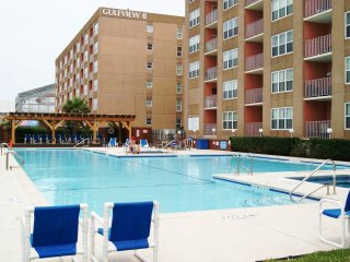 Gulfview I #512 mid island next to Schlitterbahn - South Padre Island vacation rentals