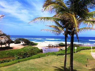 SEE, HEAR OCEAN! BEACHFRONT, OCEAN VIEW. BEST RATE!  (LAST MINUTE DISC 6/3-6/10) - Lihue vacation rentals