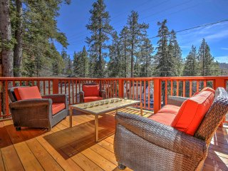 NEW! Scenic 4BR Big Bear Cabin w/ Private Hot Tub! - Big Bear Area vacation rentals