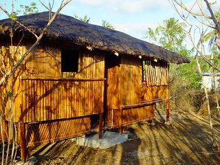 Germans Place Bamboo Cubo 1 on White Sand Coral Beach - Bolinao vacation rentals