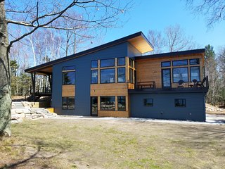 Beautiful Modern Home w/ Private Lk MI Beachfront - Manistee vacation rentals