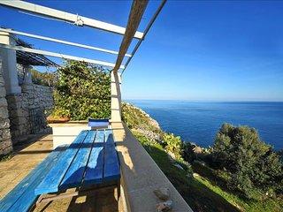 Othoni Cottage - trulli con vista mare unica - Santa Maria di Leuca vacation rentals