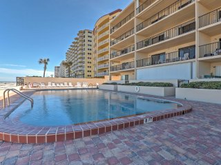 NEW! 2BR Daytona Beach Condo w/ Beachfront Patio! - Daytona Beach Shores vacation rentals