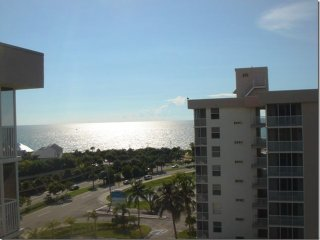Penthouse Studio Great View of Canals, and Gulf of Mexico, 5 min walk to beach! - Bonita Springs vacation rentals