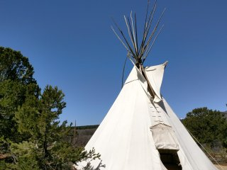 Authentic Tipi with Great Views! - Monticello vacation rentals