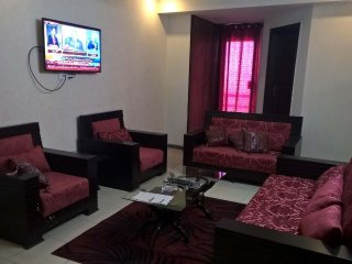Fully furnished 3 bedroom apartment in safari villas 1 phase 1 Bahria Town. - Rawalpindi vacation rentals