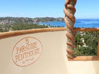 PARADISE PENTHOUSE #5 Casitas Sayulita Ocean View - Puerto Vallarta vacation rentals