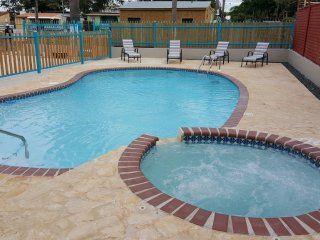 Playa Azul Apartments sleep 16, WiFi, A/C, pool, walking distance Combate beach - Cabo Rojo vacation rentals
