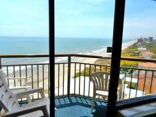 Romance in Penthouse 37 at Monterey Bay/Best View at Beach/60'Tvs/Fireplace/King - Myrtle Beach vacation rentals