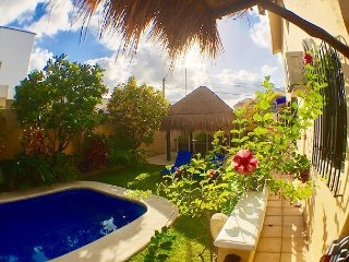 YOU WILL LOVE THIS VILLA, AFFORDABLE, WALK TO BEACH OR TOWN, AC/POOL & MORE! - Puerto Morelos vacation rentals