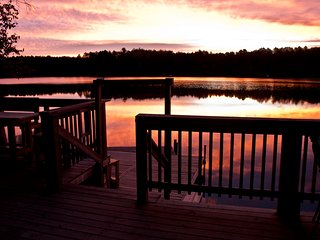 Perfect Cottage with Deck and Internet Access - Lake Saint Peter vacation rentals