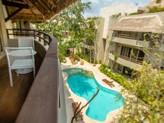 TROPICAL 2 BDR PENTHOUSE in newest area of Tulum, ALDEA ZAMA! - Tulum vacation rentals