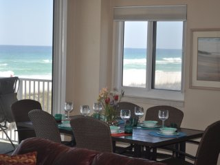 End unit with 2 balconies directly on Gulf of Mexico! 3Bd/ 2 1/2 B. GREAT VIEWS! - Pensacola Beach vacation rentals