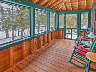 NEW! Lakefront 2BR Rangeley Cabin w/Enclosed Porch - Rangeley vacation rentals