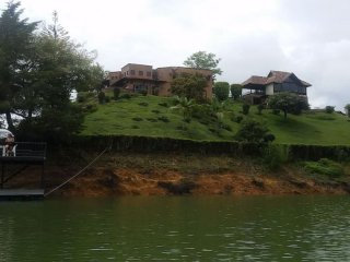Huge Lake House Guatape - 14 beds, pool, jacuzzi, kayaks - Guatape vacation rentals