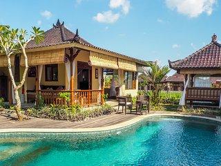 Devi's Place Ubud- spacious peaceful 3 BDR Villa Shanti - great views & internet - Sayan vacation rentals