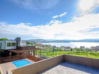 265 Modern house with pool and sea views - Outes vacation rentals