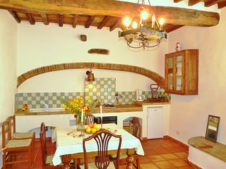 Spacious 2-bedroom, 2-bath apartment patio & pool - Castellina In Chianti vacation rentals