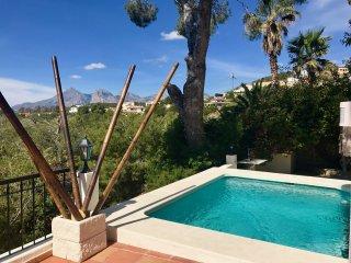 Beautiful Ibiza Style Villa with Spectacular Views ++ DREAM  HOLIDAYS ++ - Altea la Vella vacation rentals