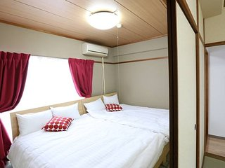Around Hiroshima sta. 7ppl & 3-Double beds!!#1T14 - Fuchu-cho vacation rentals