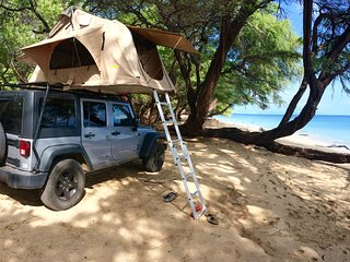 Explore Maui your own way '4x4 Jeep Wrangler + Roof top tent - Lahaina vacation rentals
