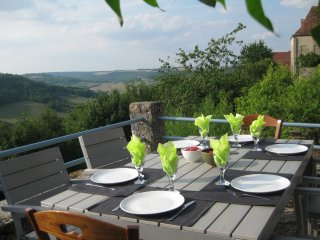 2 bedroom House with Balcony in Flavigny-sur-Ozerain - Flavigny-sur-Ozerain vacation rentals