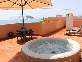 85m2 terrace, sea views, short walk from beach - Torrox vacation rentals