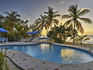 NEW! Beachfront 3BR Les Terres Basses Villa w/Pool - Plum Bay vacation rentals