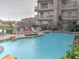 NEW! 1BR Corpus Christi Condo - On Canal w/ Pool! - Chapman Ranch vacation rentals