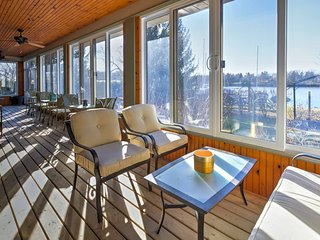 NEW! Lakefront 5BR Picton House w/ Indoor Veranda! - Adolphustown vacation rentals