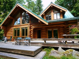 River front Luxury Log Cabin 1 hour from Seattle - Baring vacation rentals