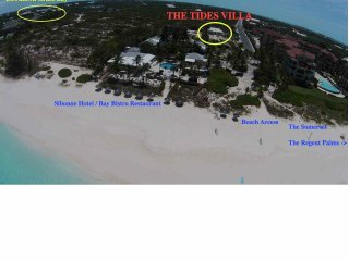 Location location location 4 Bdr Tides Villa Grace Bay - Grace Bay vacation rentals
